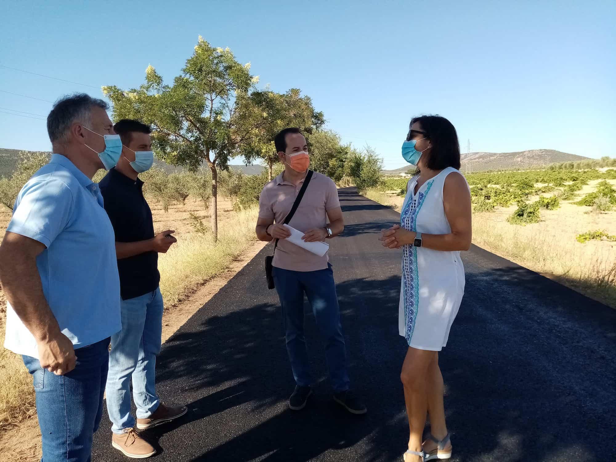 Asfaltado de la calle Caldereros y mejora tramos de los caminos de la Pedriza con los Presupuestos Participativos 3