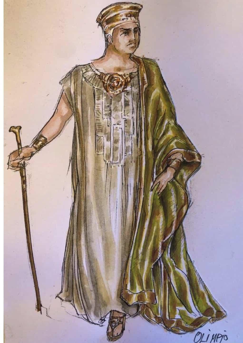 El vestuario de Rafael Garrigós, vuelve a brillar sobre el teatro romano de Mérida 36