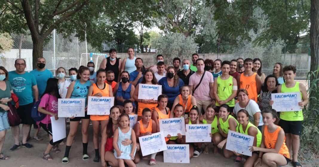 Clausura de la Escuela de Balonmano Playa en Herencia 1