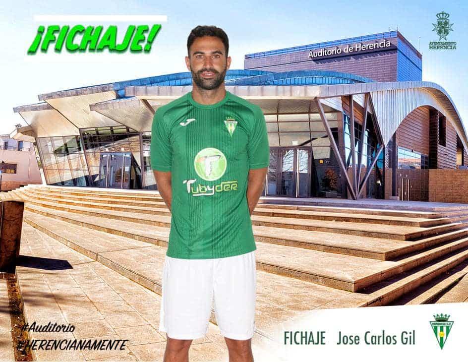 José Carlos Gil se incorpora al primer equipo del Herencia C.F. 1