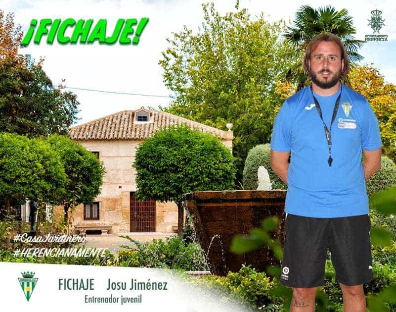 Josu Jiménez vuelve al Herencia C.F. para llevar el equipo juvenil y preparador de porteros 1