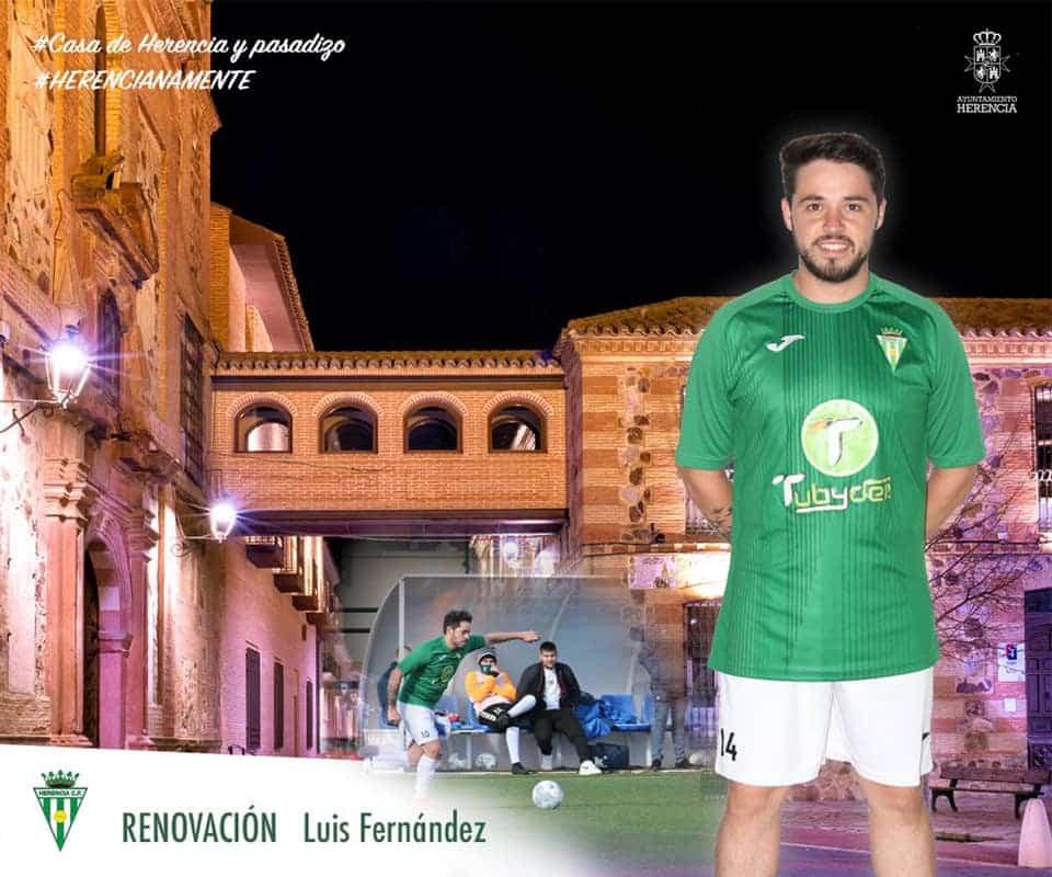 Renovación de Luis Fernández por un año más en el Herencia C.F. 1