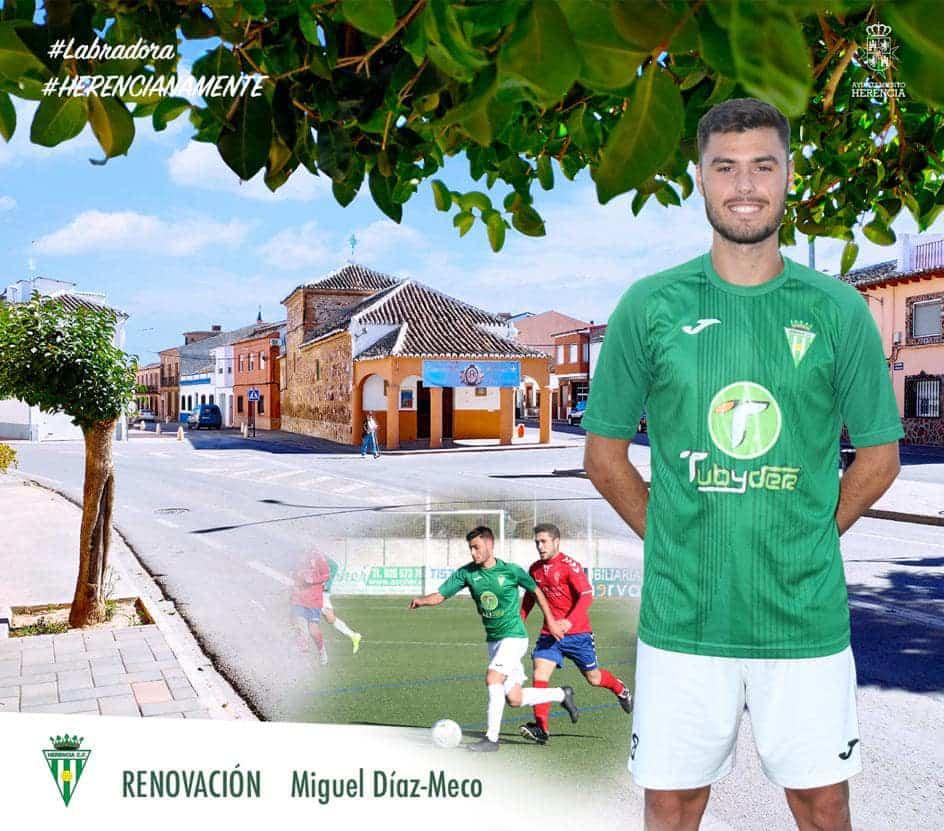 Miguel Díaz Meco renueva por el Herencia C.F. por otro año 1