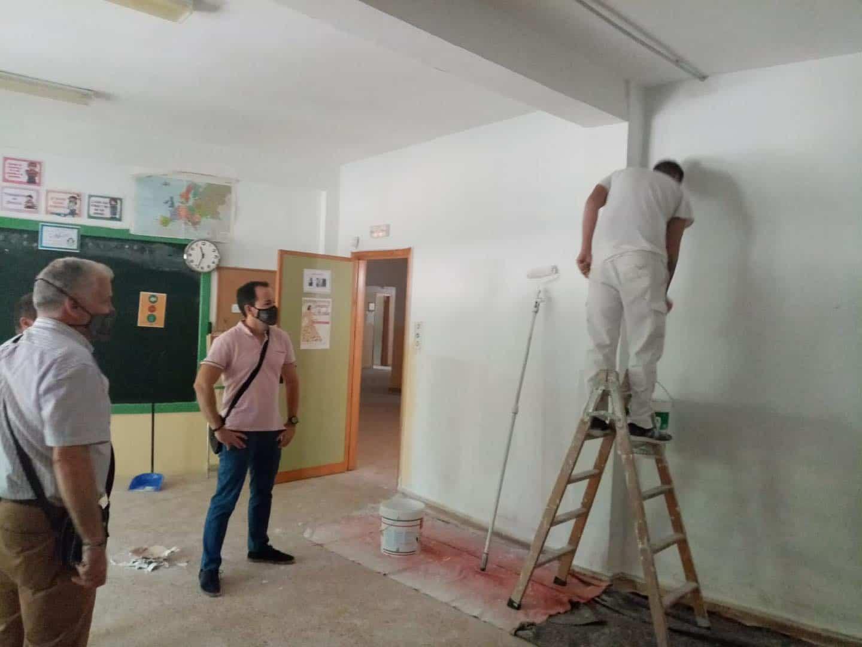 Puesta a punto de los centros educativos de Herencia para el inicio escolar 3