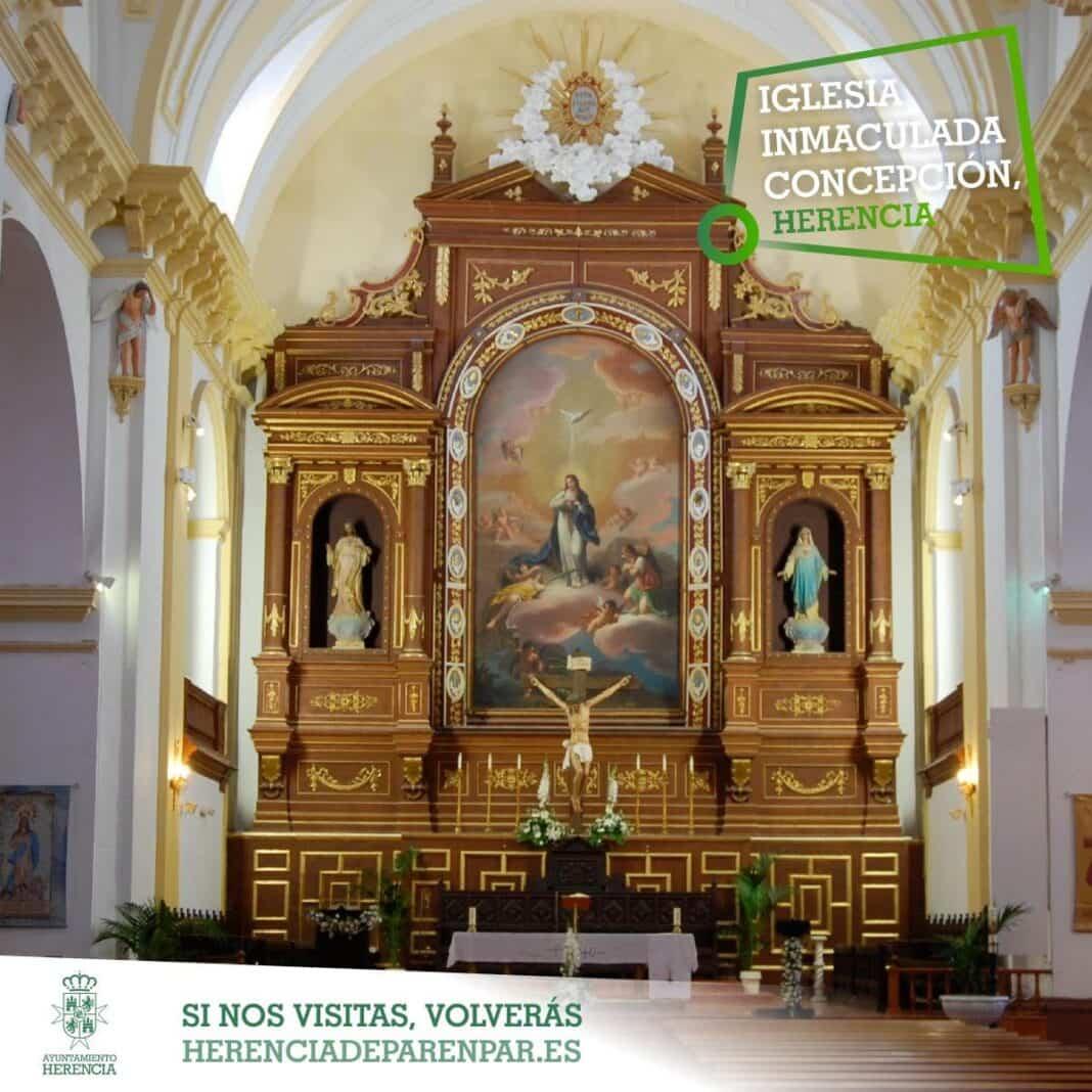 Conociendo Herencia: Retablo y lienzo de la Inmaculada Concepción 10