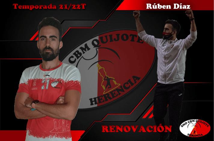 Renovación de Rubén Díaz-Pavón del cuerpo técnico del SMD BM Ararat Herencia 1