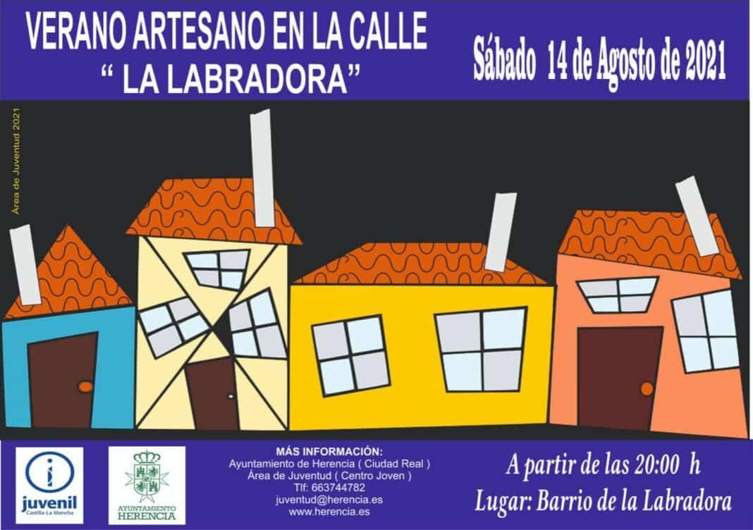 """Verano Artesano en la Calle """"La Labradora"""" el 14 de agosto 1"""