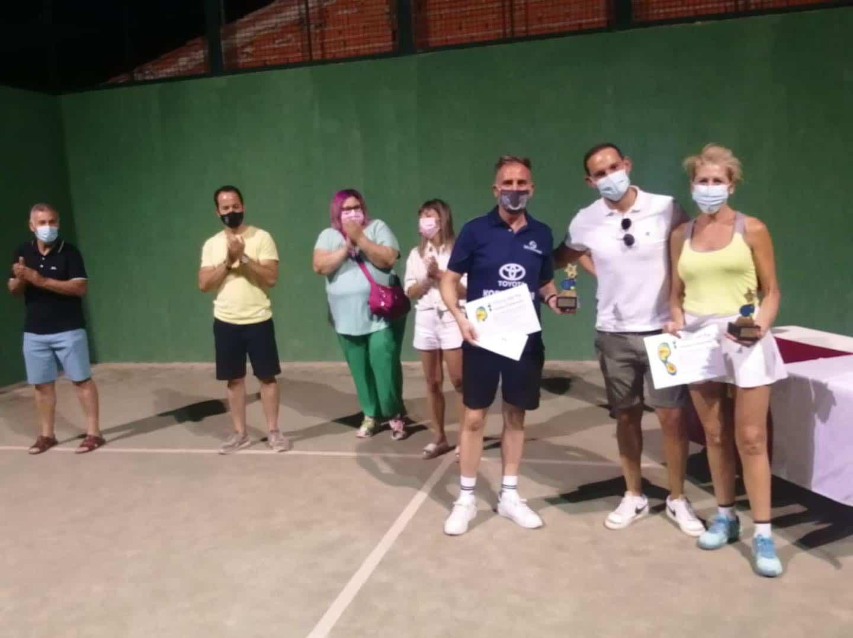 Entrega de trofeos del VI Torneo de Pádel de Verano en Herencia 22