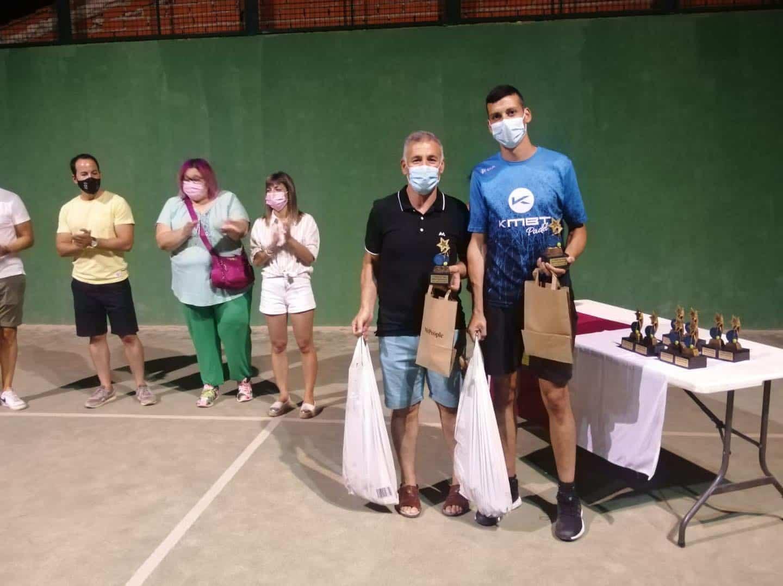 Entrega de trofeos del VI Torneo de Pádel de Verano en Herencia 23