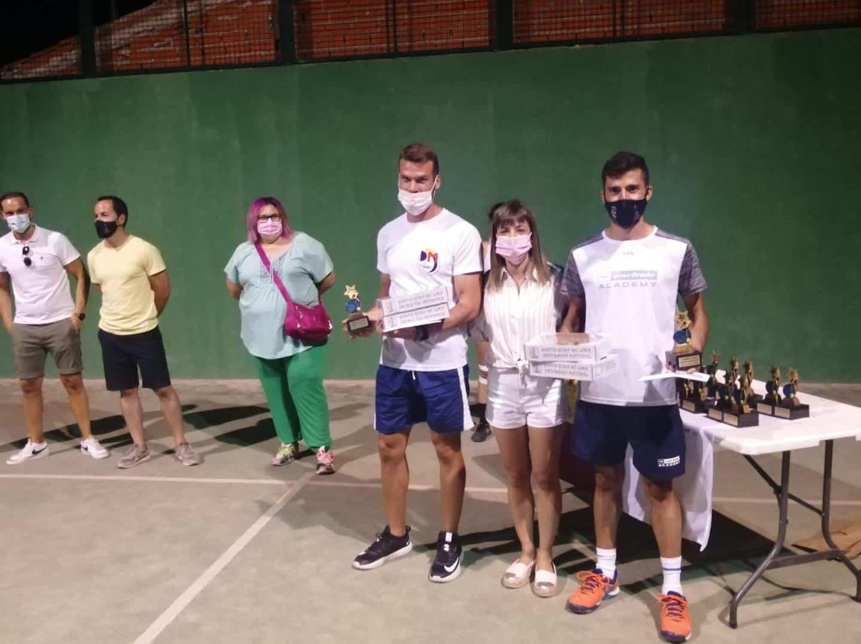 Entrega de trofeos del VI Torneo de Pádel de Verano en Herencia 24