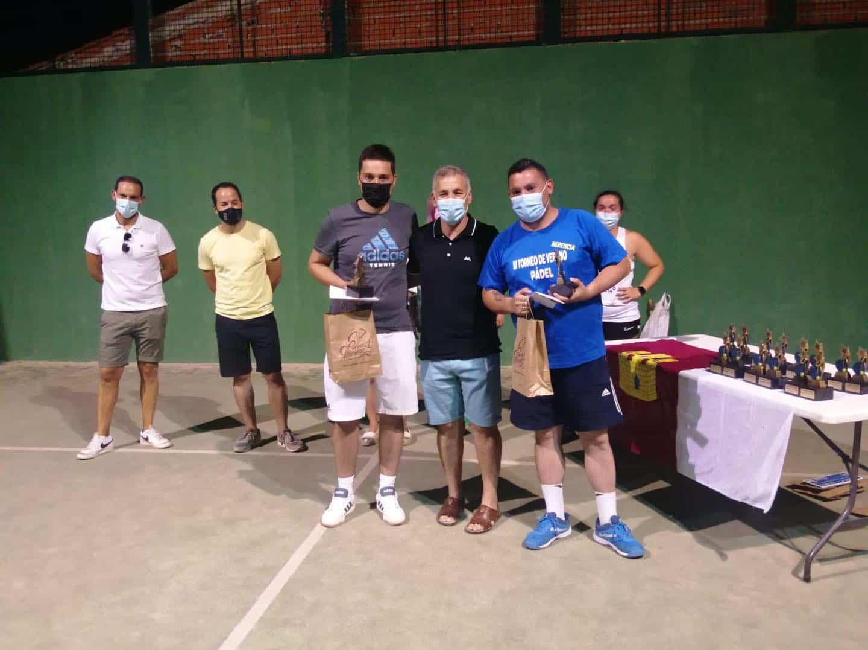 Entrega de trofeos del VI Torneo de Pádel de Verano en Herencia 26