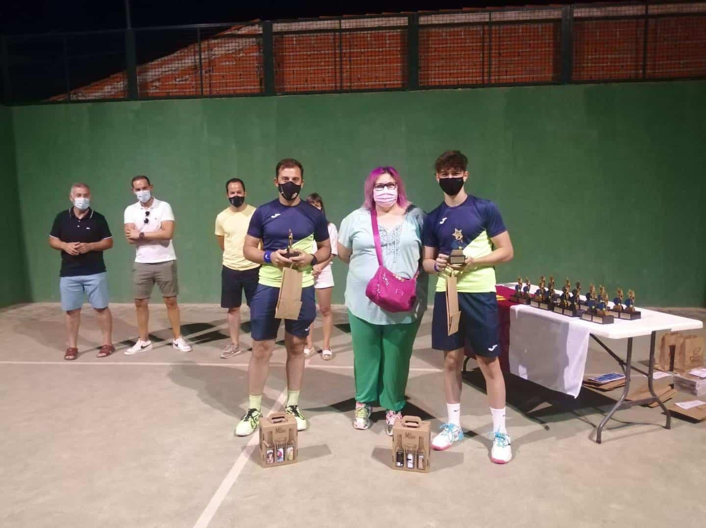 Entrega de trofeos del VI Torneo de Pádel de Verano en Herencia 27