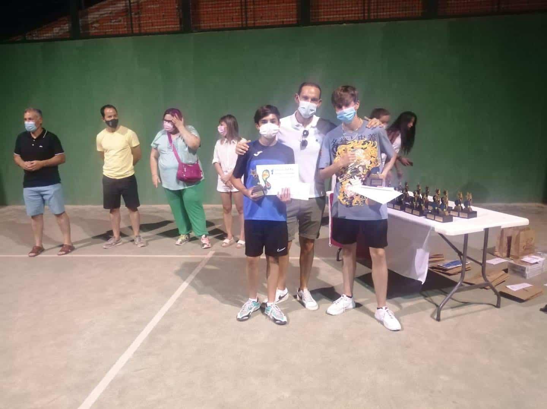 Entrega de trofeos del VI Torneo de Pádel de Verano en Herencia 28