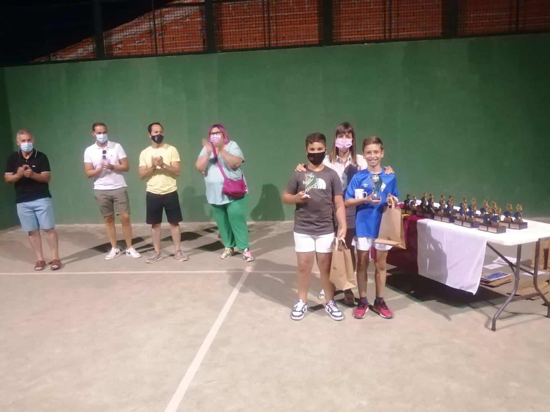 Entrega de trofeos del VI Torneo de Pádel de Verano en Herencia 29