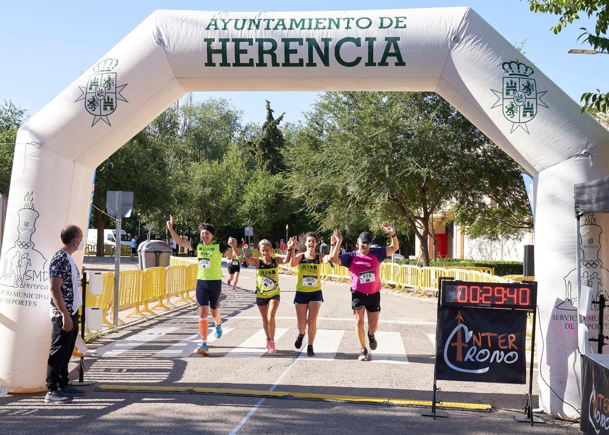 """Clasificaciones de la 44 Carrera Popular """"Villa de Herencia"""" 19"""