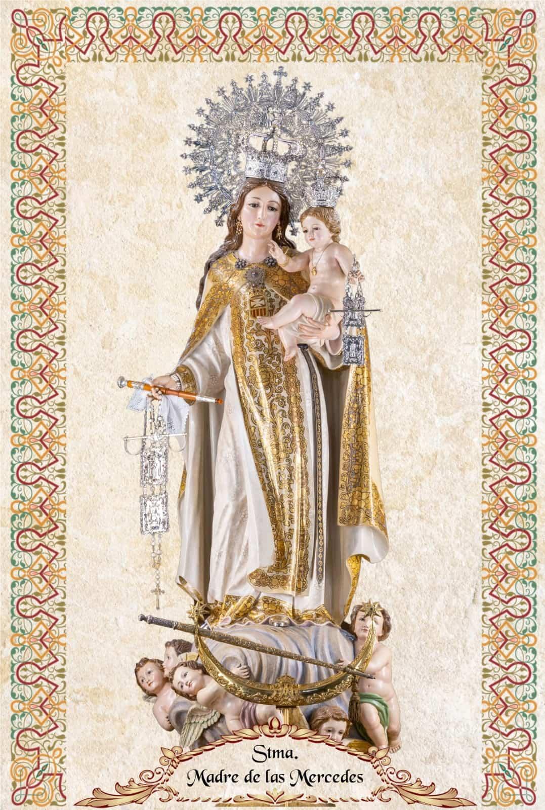 Dos cerámicas conmemoran la llegada de la actual imagen de la Virgen de las Mercedes a Herencia 5