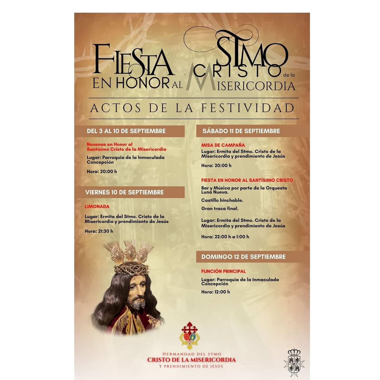 Fiestas en honor al Cristo de la Misericordia en Herencia 3