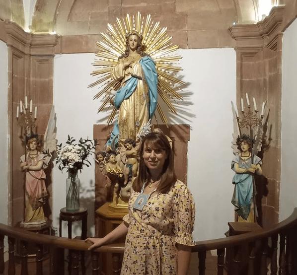 Inmaculada Rodríguez-Palancas presidirá la Hermandad de la Inmaculada Concepción de Herencia 1
