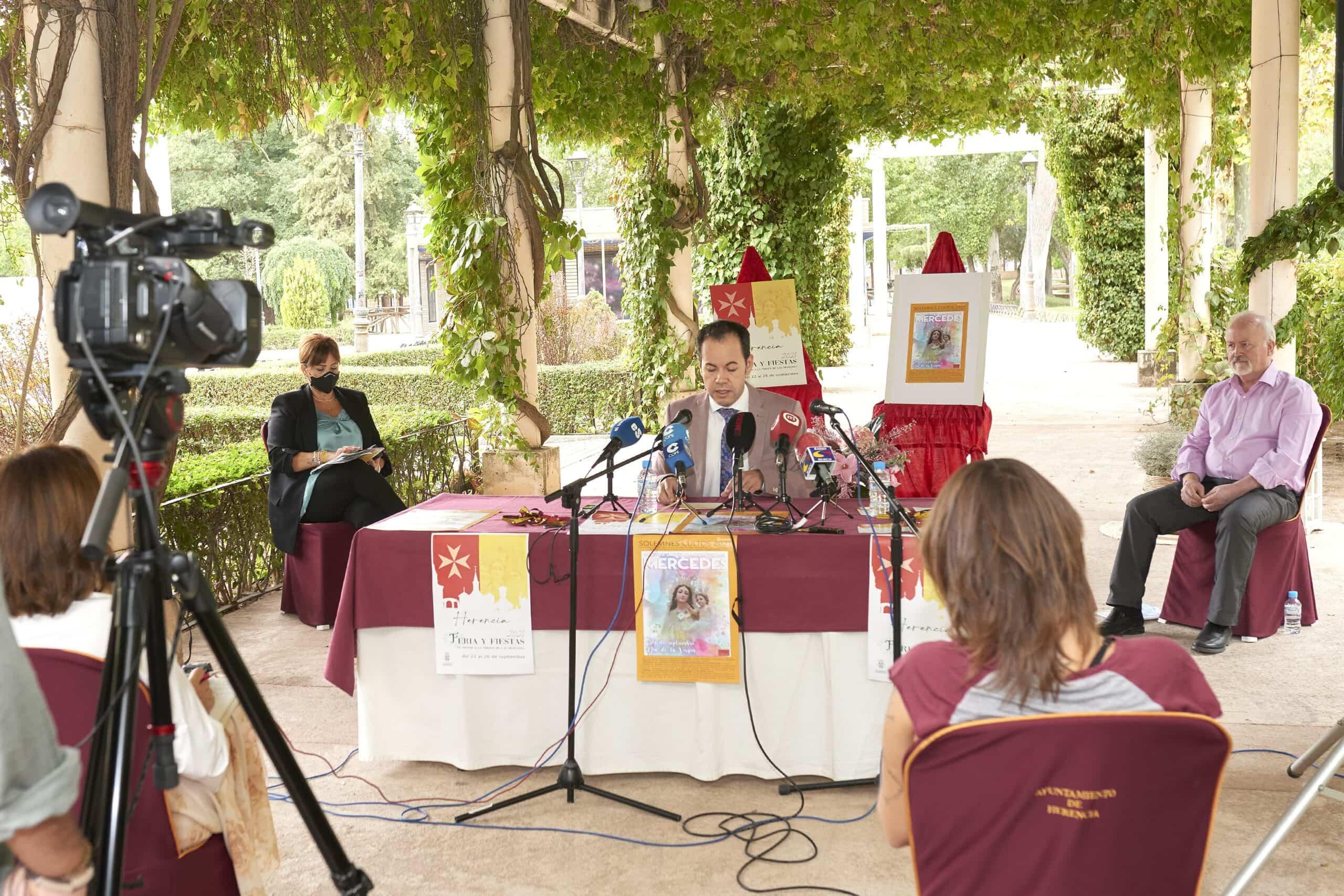 Herencia anuncia con ilusión la celebración de sus Fiestas adaptando todos los actos a la situación sanitaria 5