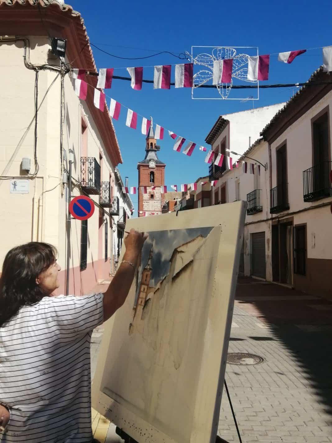 """23 participantes en el XIV Certamen Nacional de Pintura Rápida """"Villa de Herencia"""" 1"""