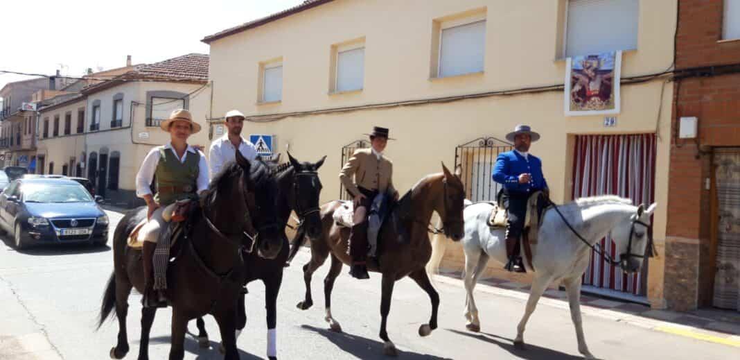 Paseo a caballo en la Feria de Herencia el 26 de septiembre 4