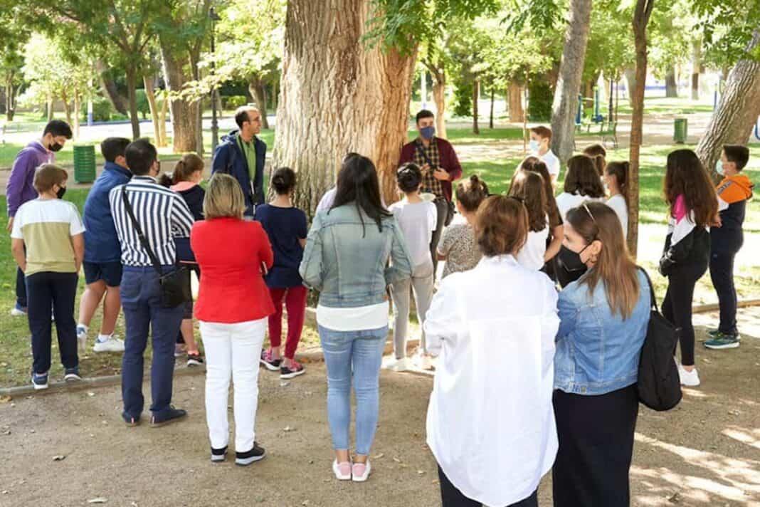 Visita guiada al Parque Municipal de Herencia del CEIP Carrasco Alcalde 1