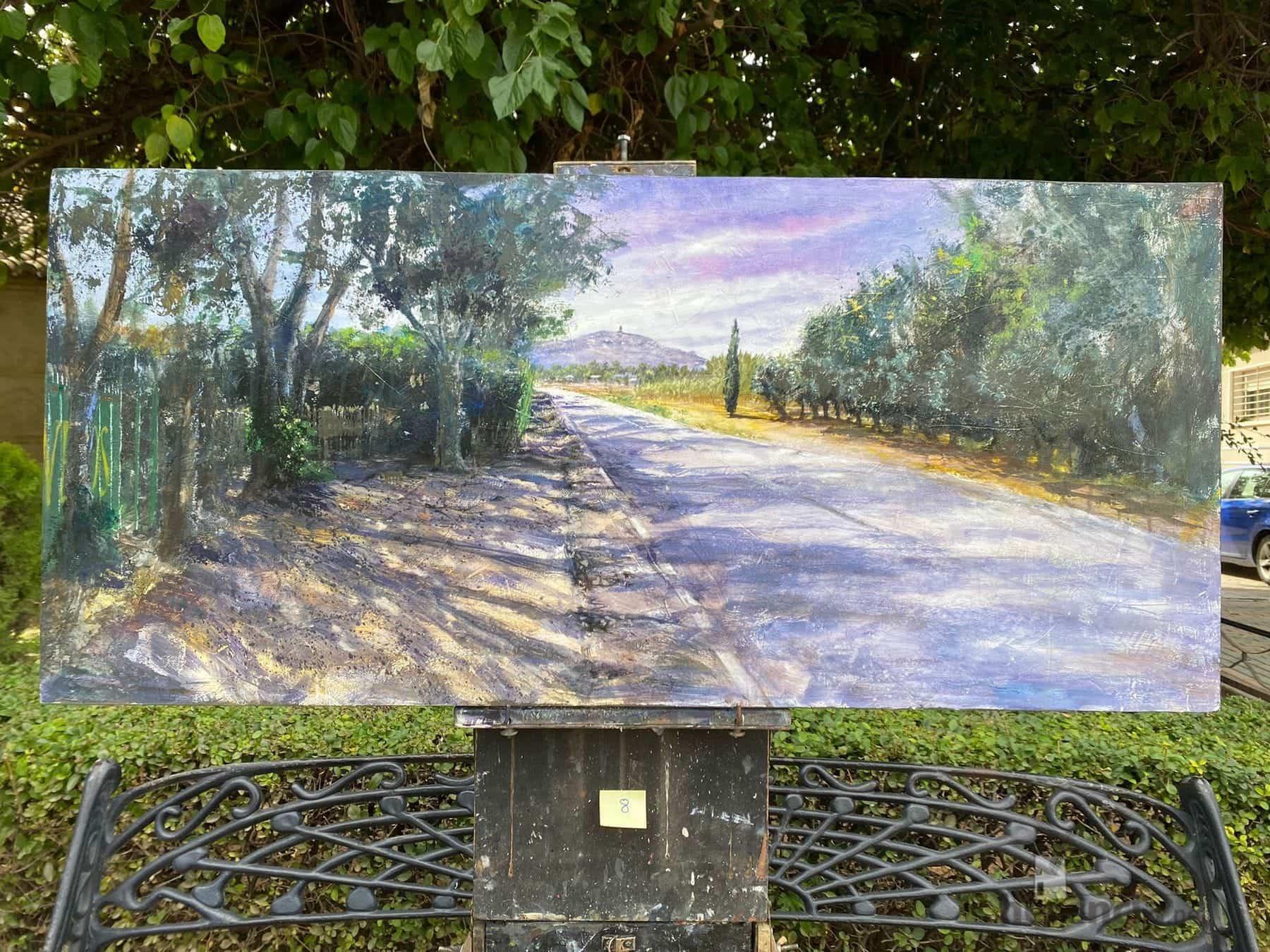 """Galería de cuadros del XIV Certamen Nacional de Pintura Rápida """"Villa de Herencia"""" 56"""