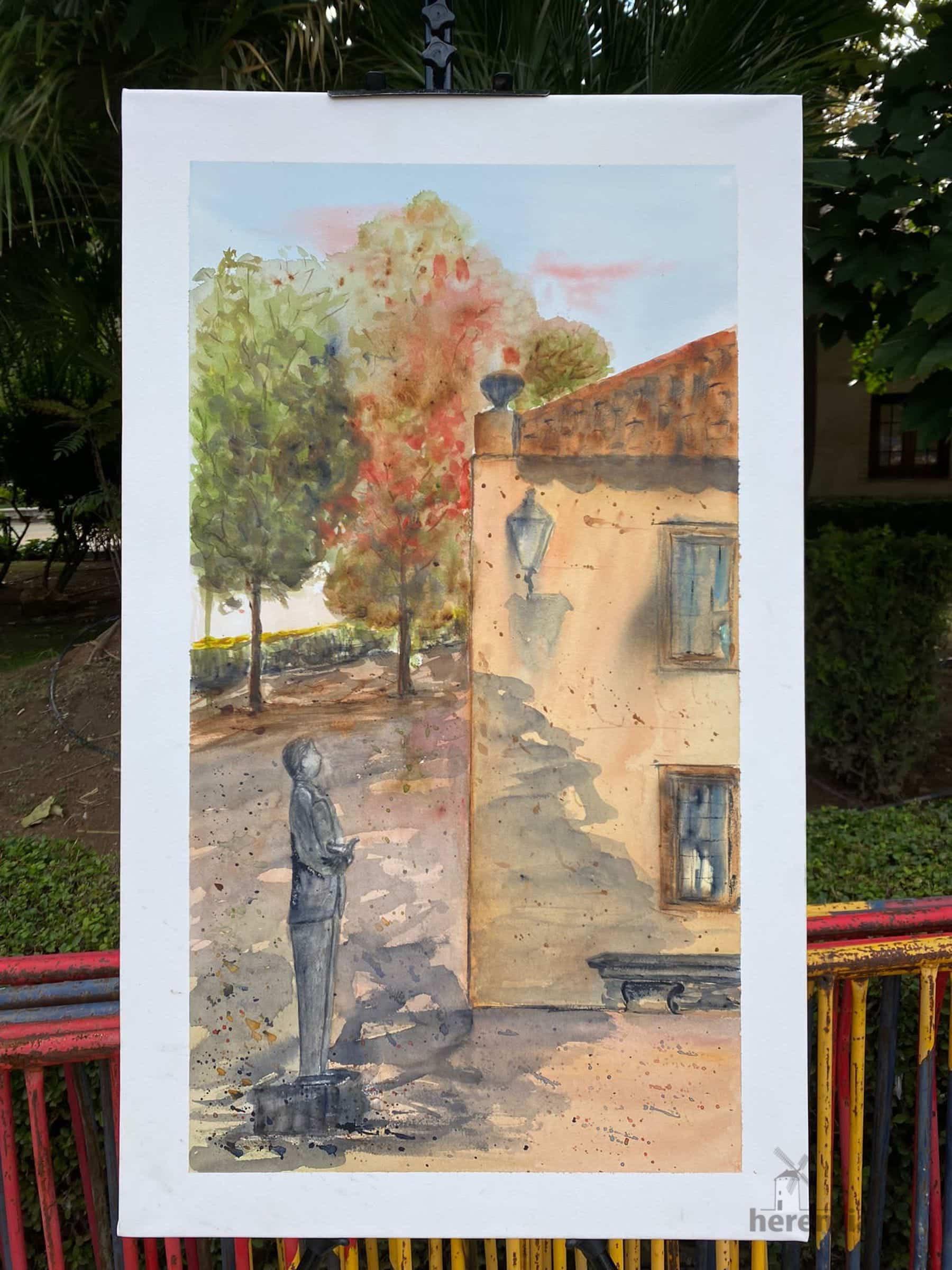 """Galería de cuadros del XIV Certamen Nacional de Pintura Rápida """"Villa de Herencia"""" 60"""