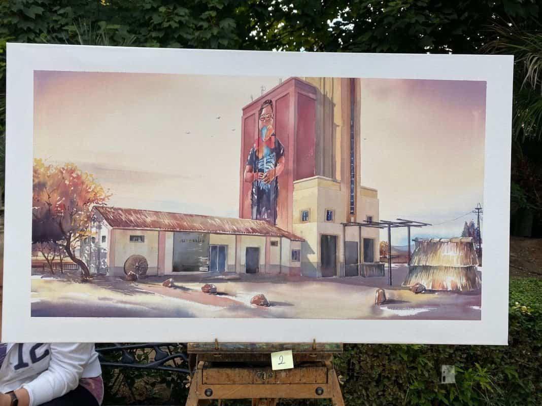 """Galería de cuadros del XIV Certamen Nacional de Pintura Rápida """"Villa de Herencia"""" 64"""