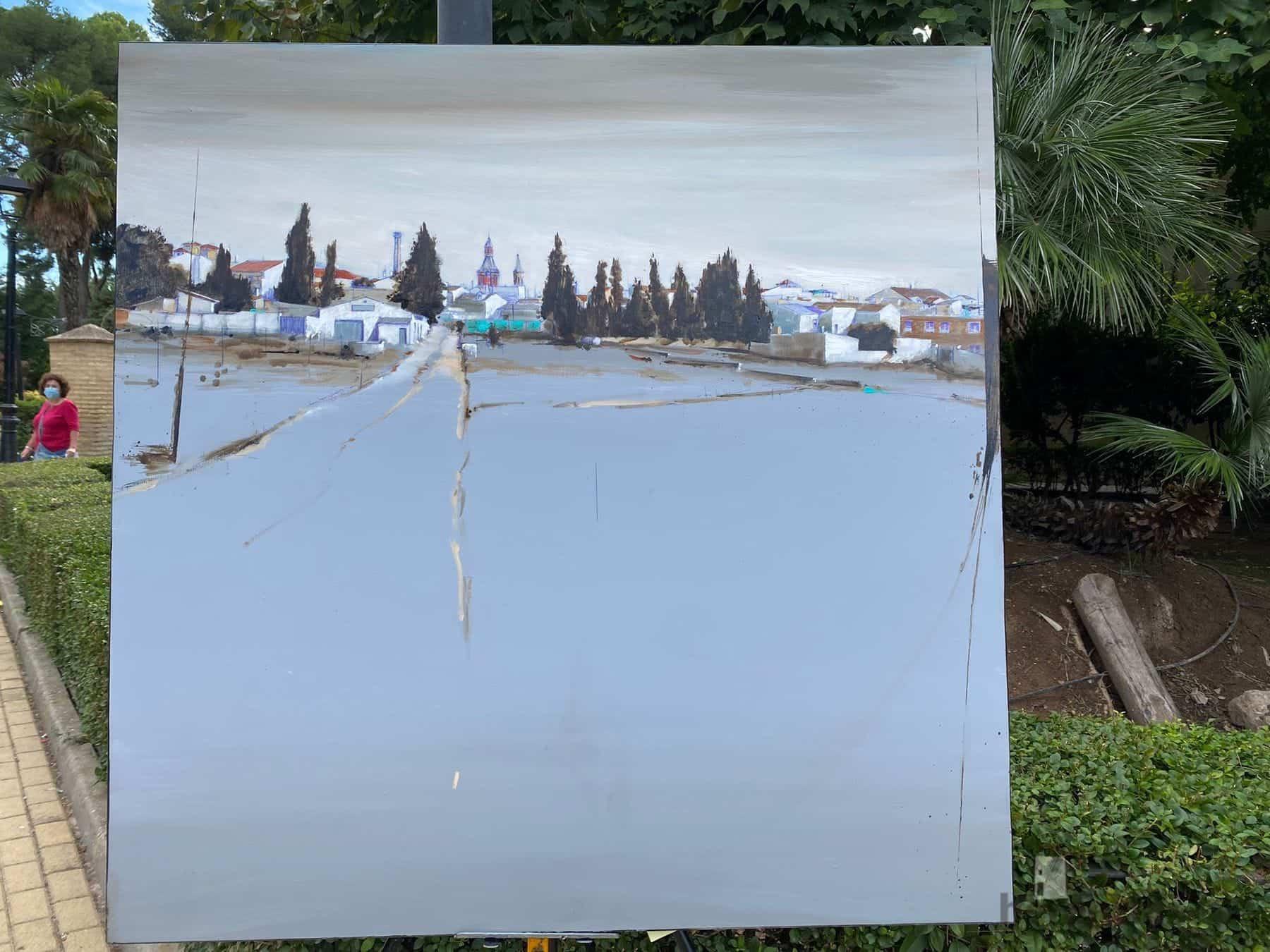 """Galería de cuadros del XIV Certamen Nacional de Pintura Rápida """"Villa de Herencia"""" 63"""