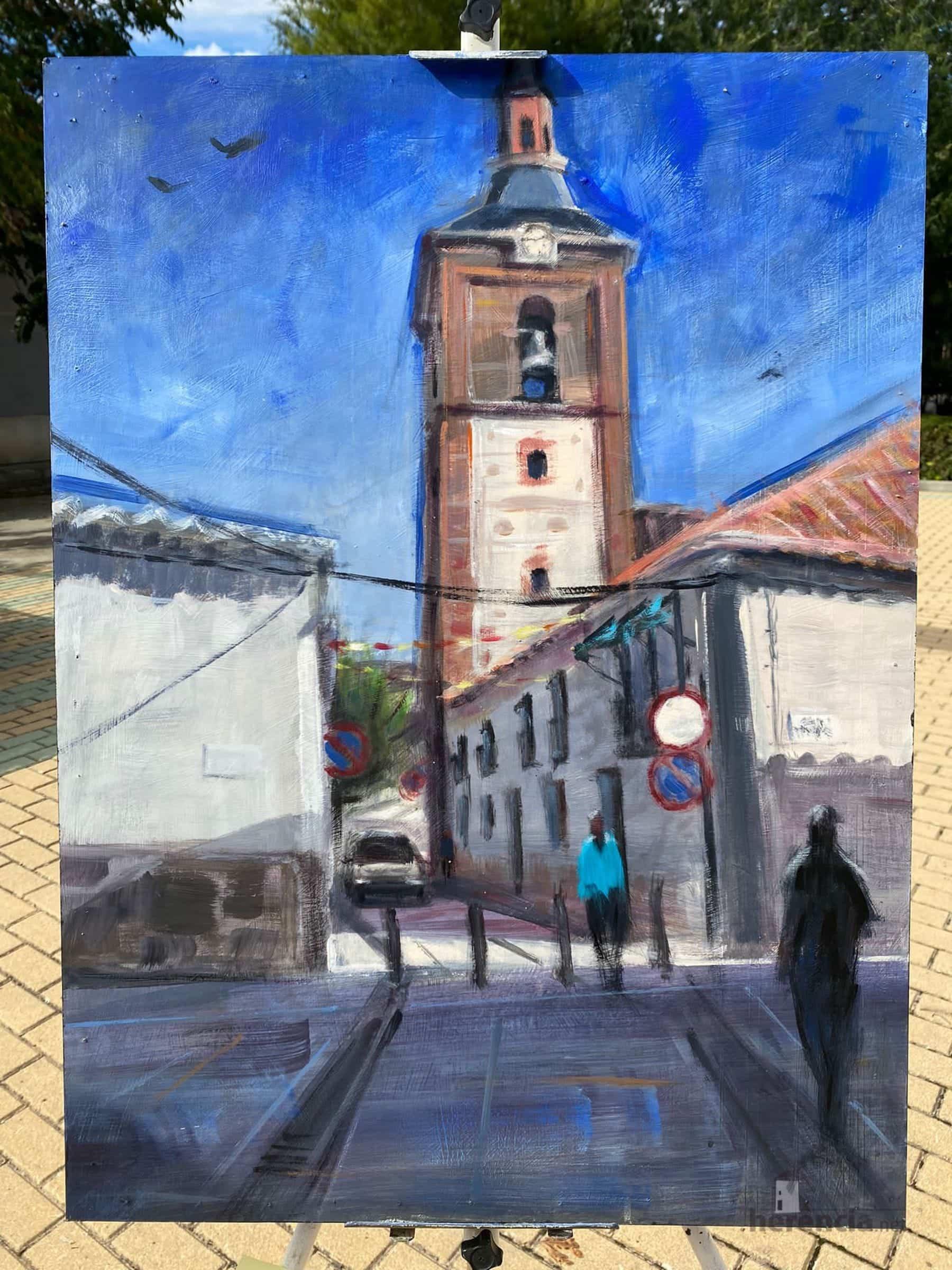 """Galería de cuadros del XIV Certamen Nacional de Pintura Rápida """"Villa de Herencia"""" 45"""