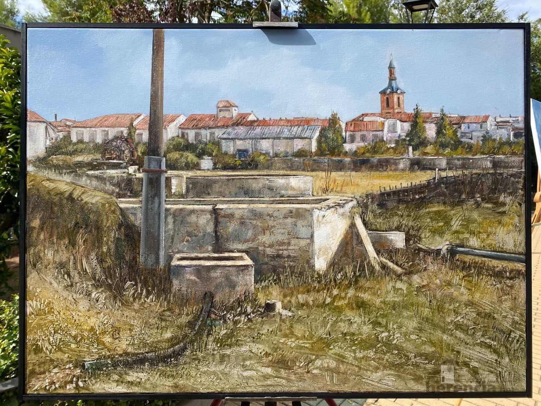 """Galería de cuadros del XIV Certamen Nacional de Pintura Rápida """"Villa de Herencia"""" 49"""