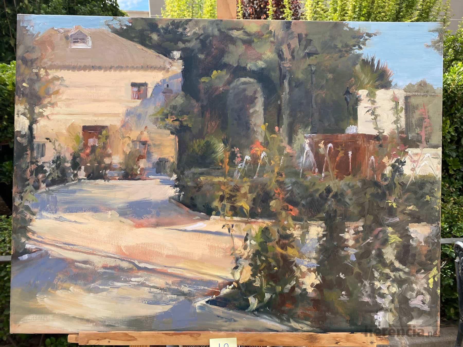 """Galería de cuadros del XIV Certamen Nacional de Pintura Rápida """"Villa de Herencia"""" 51"""