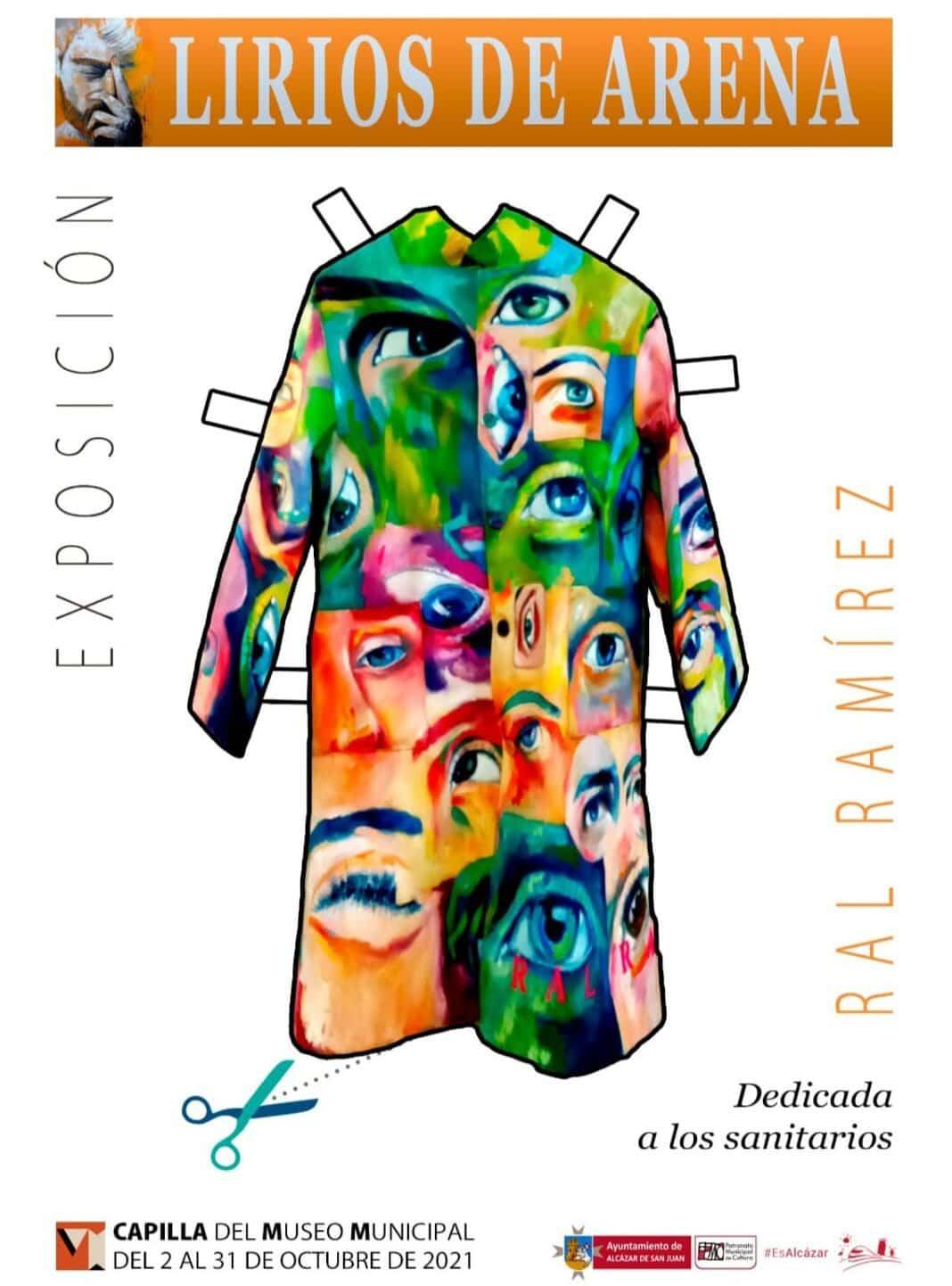 """""""Lirios de Arena"""" exposición de Ral Ramírez en Alcázar de San Juan 1"""