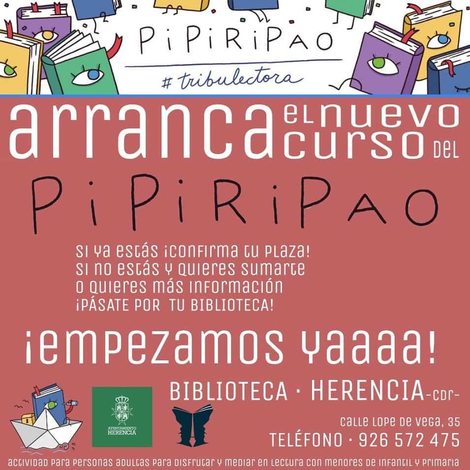 Vuelve el Pipiripao a Herencia con Félix Albo y muchas novedades 1