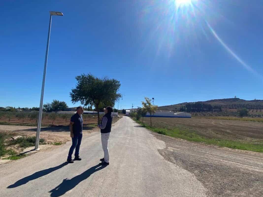 El camino de San Cristóbal cuenta con una nueva iluminación 1