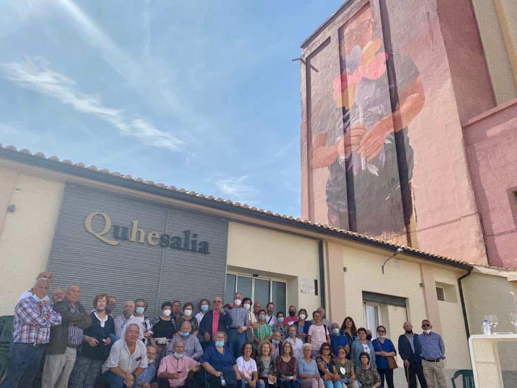 El Centro de Mayores vista Quhesalia en su día internacional 12