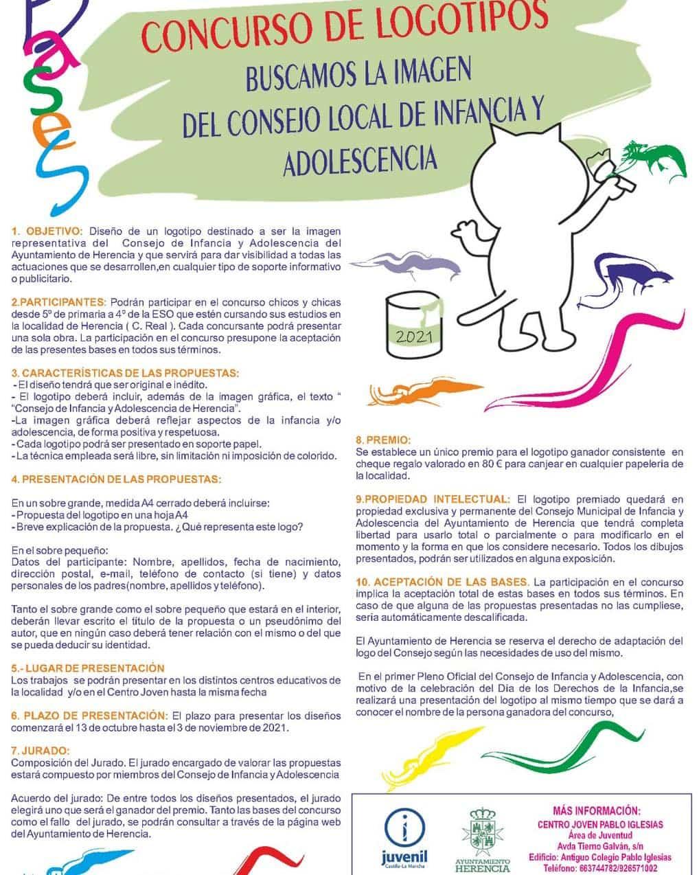 Abierto el plazo para el Concurso de Logotipos para el Consejo Local de Infancia y Adolescencia 3