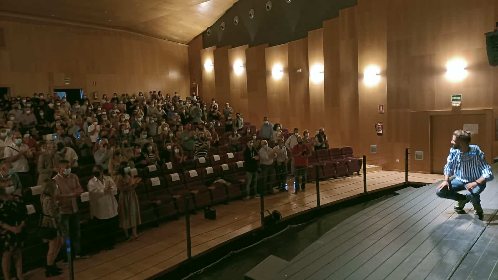 """Auditorio lleno para la premier del documental """"El viaje de Elías"""" García-Escribano 5"""