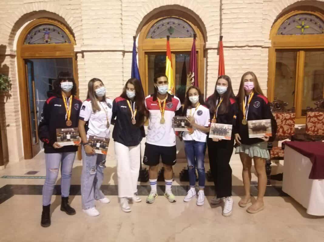 Recepción a los deportistas con medalla en el Campeonato de España de Balonmano Playa 31