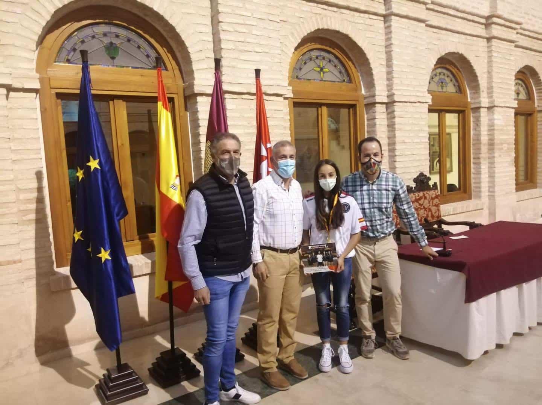 Recepción a los deportistas con medalla en el Campeonato de España de Balonmano Playa 28